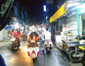 Op Vespa-foodtour door Ho Chi Minh City