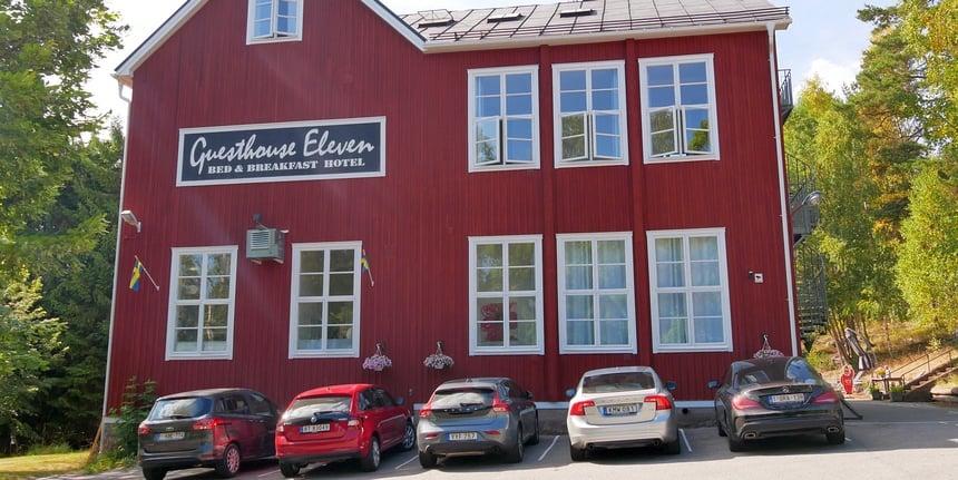 De volgende dag kom ik even bij in luxe van guesthouse Eleven.