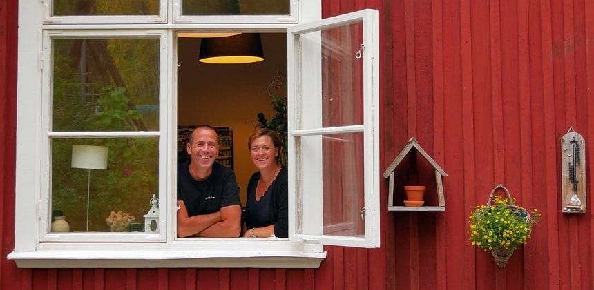 Michel en Brenda Muys genieten al 12 jaar van hun guesthouse.