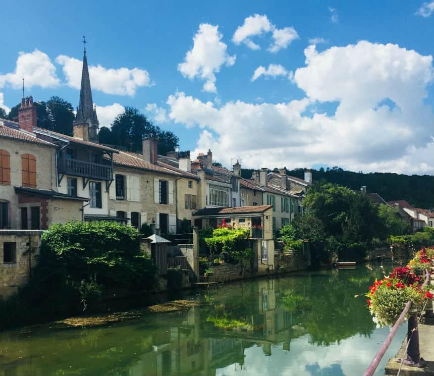 Joinville mooi stadje in Frankrijk