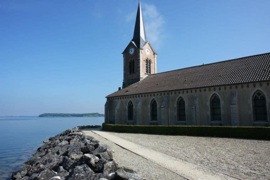 Kerk Lac du Der Franrkijk