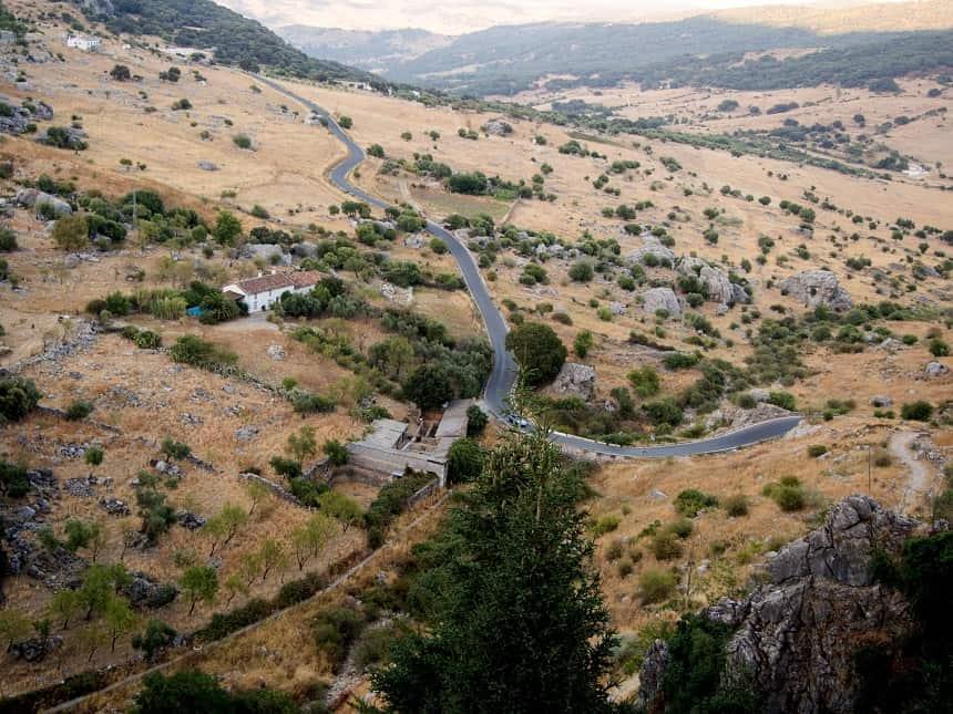 Fraaie landschappen in Andalusië