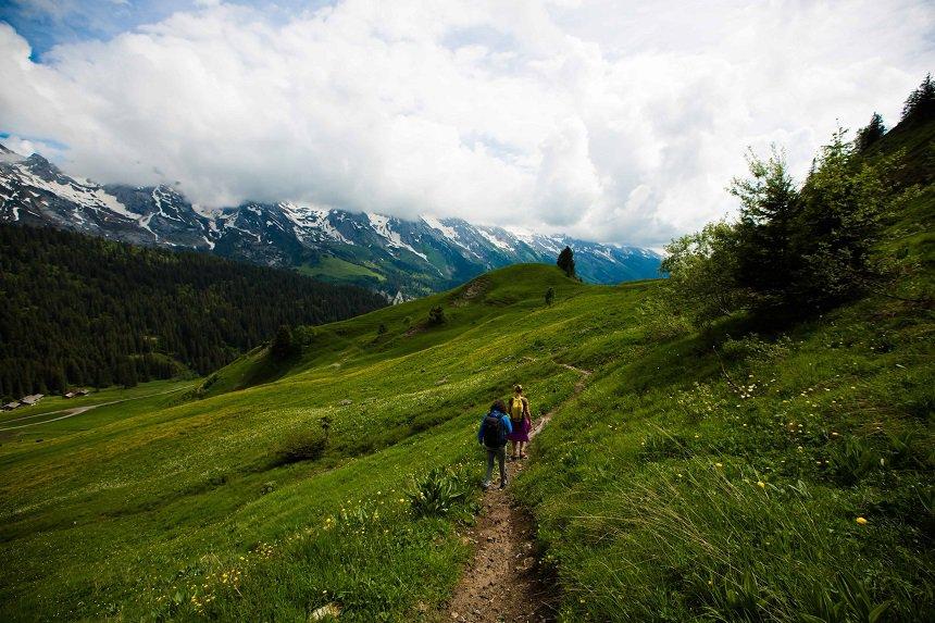 plukwandeling franse alpen