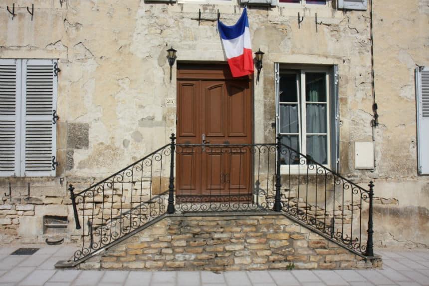 Vignory dorpje in Frankrijk