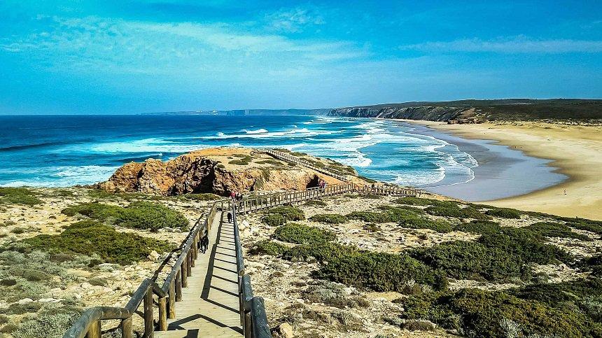 De stranden in het park Costa Vicentina in het uiterste zuidwesten van Portugal