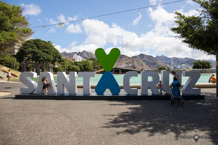 Letters Santa Cruz de Tenerife