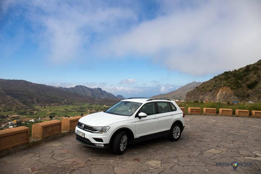 Een stevige auto is wel zo prettig in de bergachtige omgeving