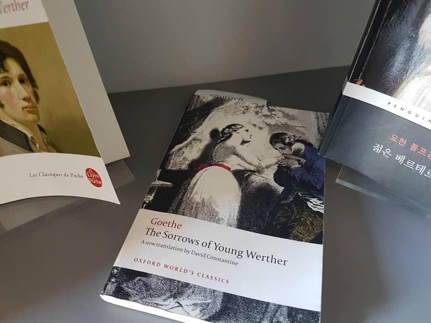 Goethe Werther boek