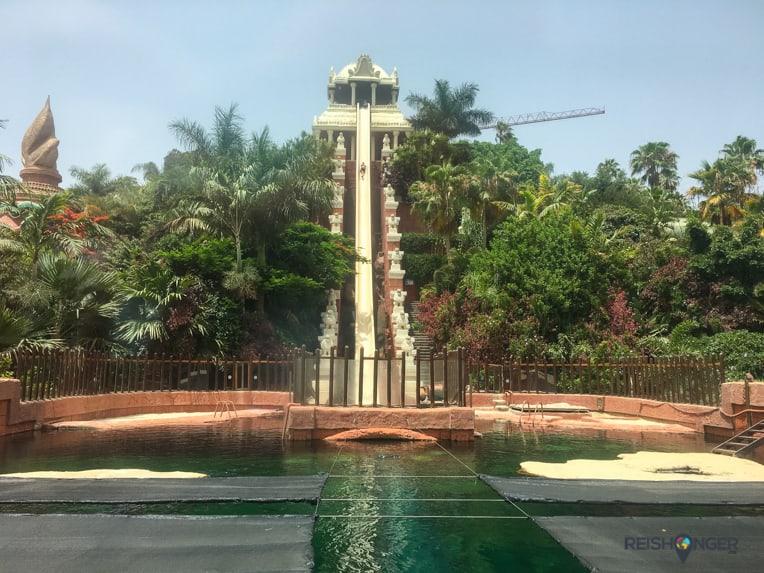 De Tower of Power is een van de hoogtepunten van Siam Park