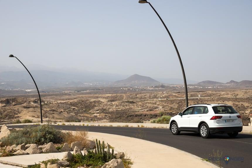 Het zuiden van Tenerife is aanzienlijk kaler dan het groenere noorden