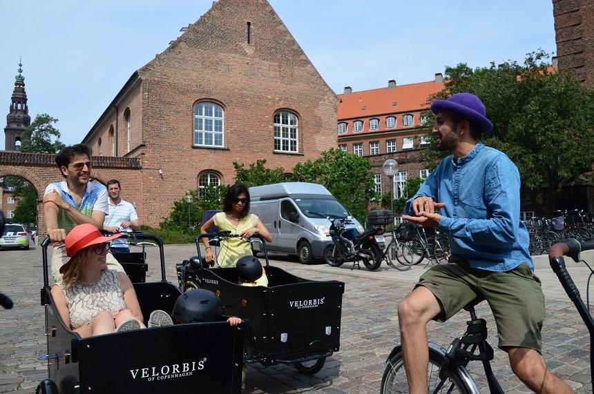 Airbnb experience - Met een bakfiets door Kopenhagen