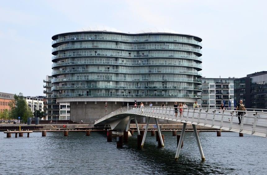 Fietsbrug in Kopenhagen
