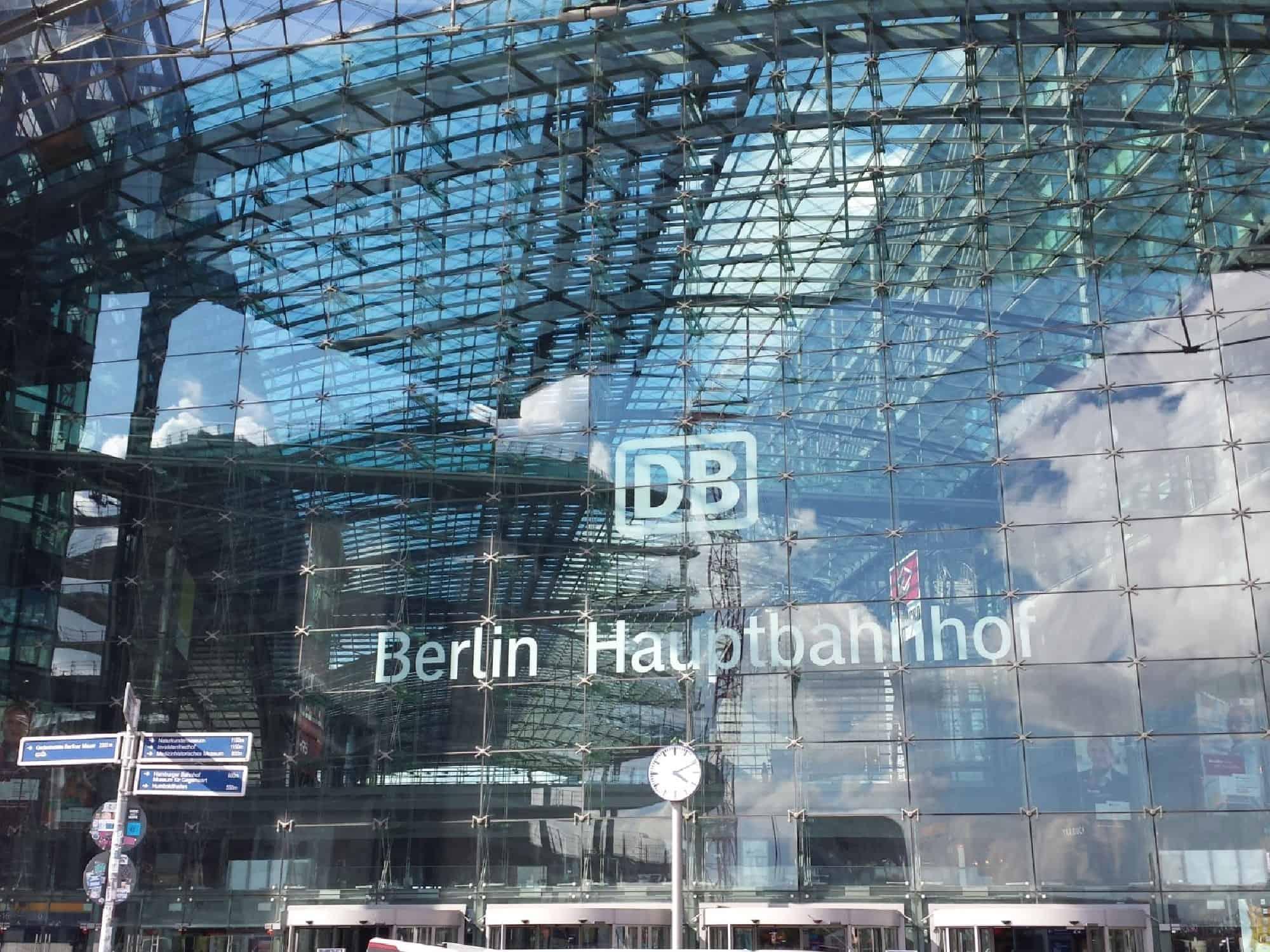 Berlijn Haubtbahnhof