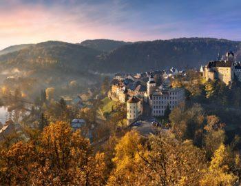 Burgenstrasse, de mooiste autoroute in Tsjechië