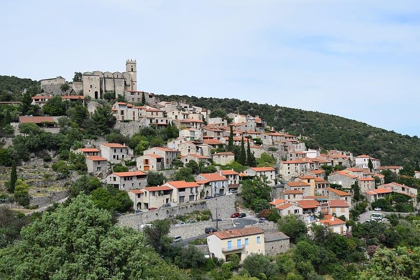 Het dorpje Eus in Pyrénées-Orientales