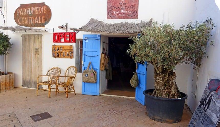 Winkeltjes in Sant Francesc Xavier
