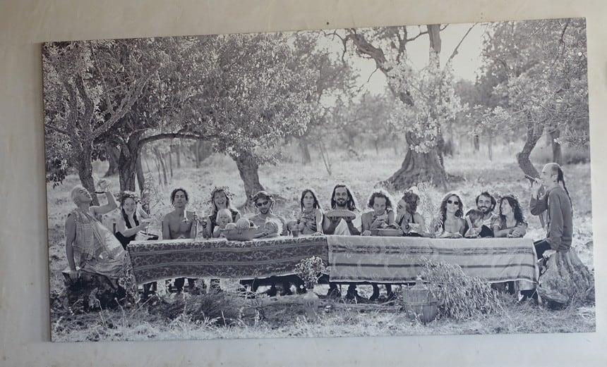 Hippies op Formentera.