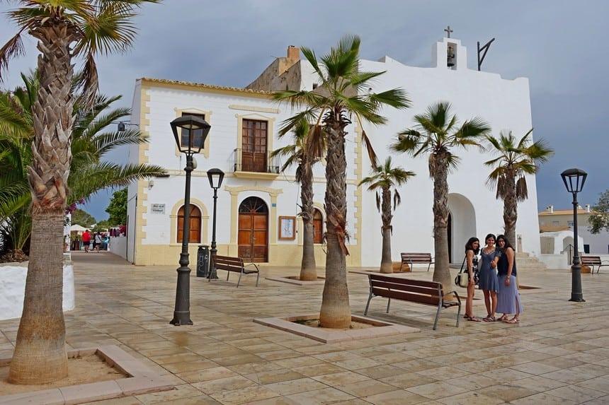Kerk van Sant Francesc Xavier in Sant Francesc de Formentera