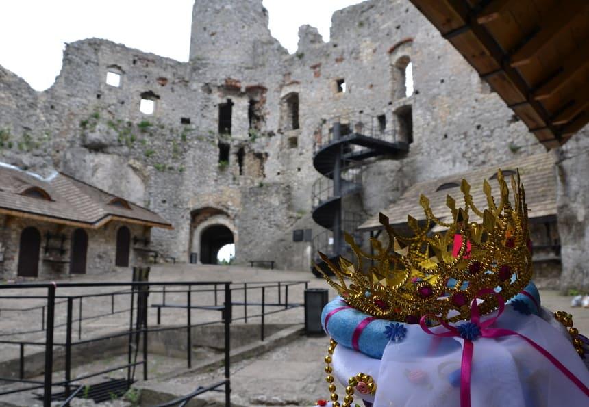 Kleine ridders en prinsesjes in de dop zijn meer dan welkom in de vele kastelen van de Arendsnestroute