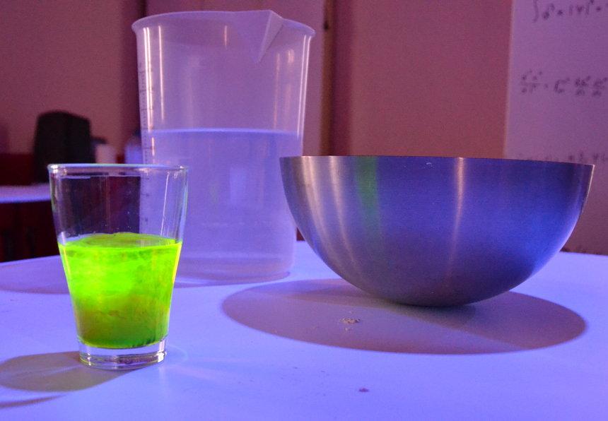 Kampus Eureka, waar je allerlei chemische experimentjes uitvoert