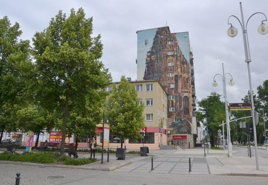 Street art in Częstochowa