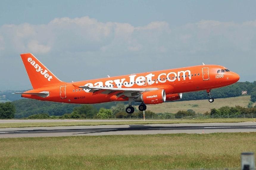 EasyJet vliegtuig