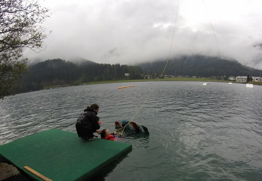Wakeboarden in Davos – Klosters