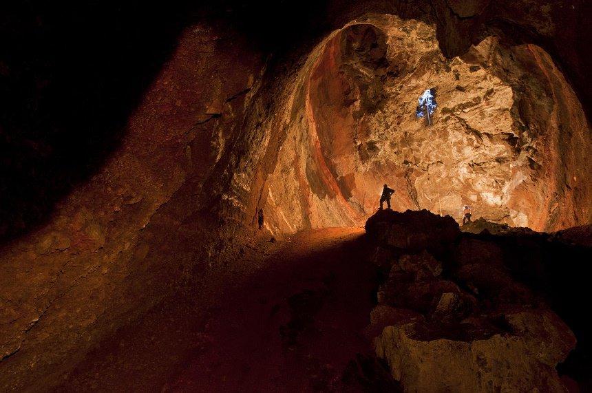 Grotten klimmen op La Palma