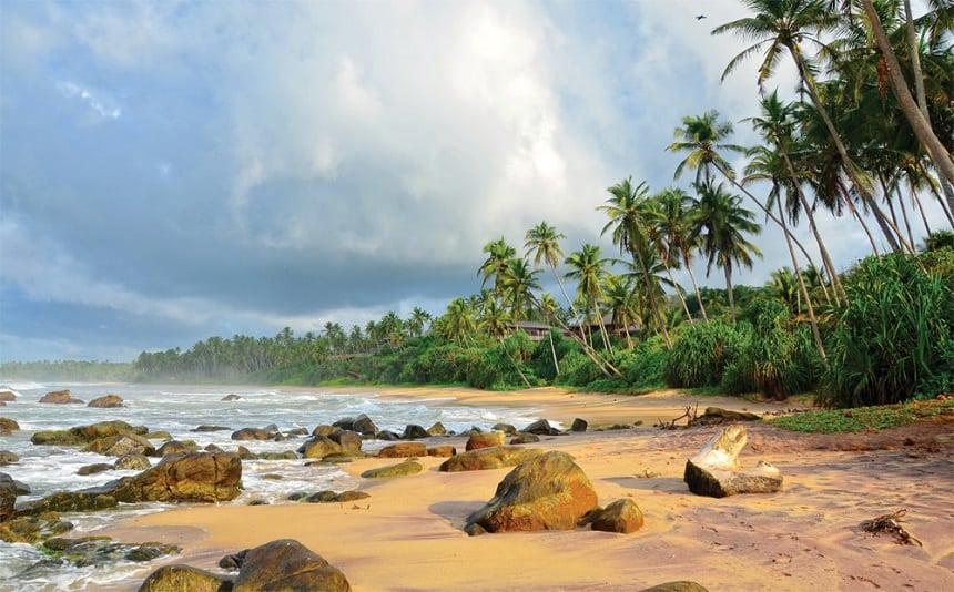 Stranden van Sri Lanka