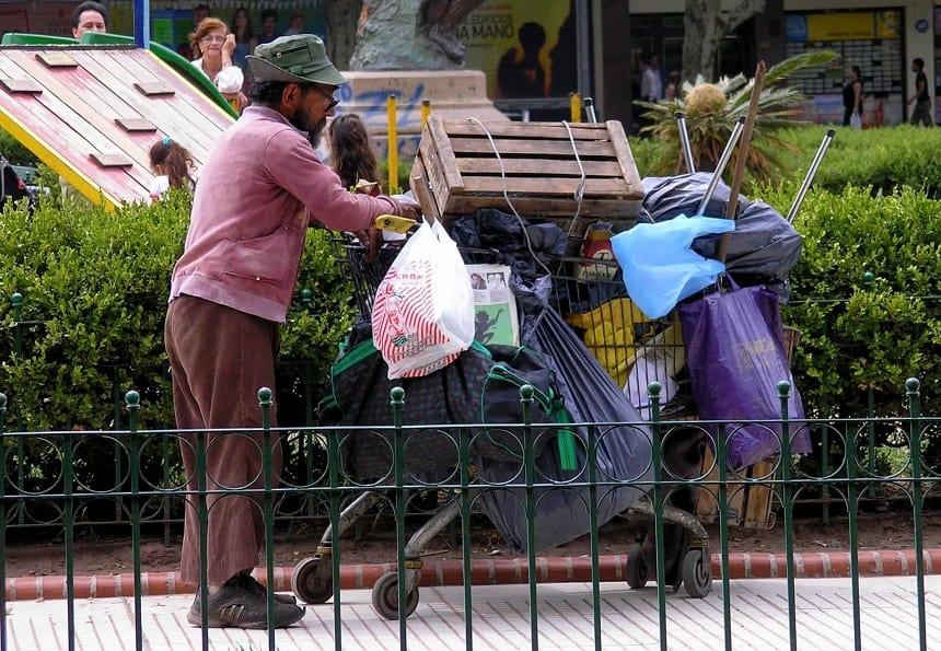 Arm en rijk leven naast elkaar in Buenos Aires