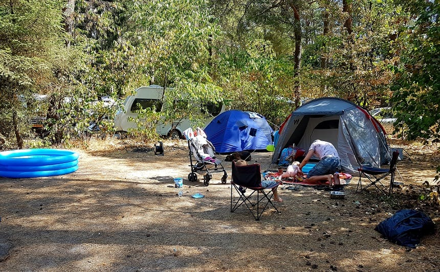 duurzame vakantie: ga kamperen in eigen land