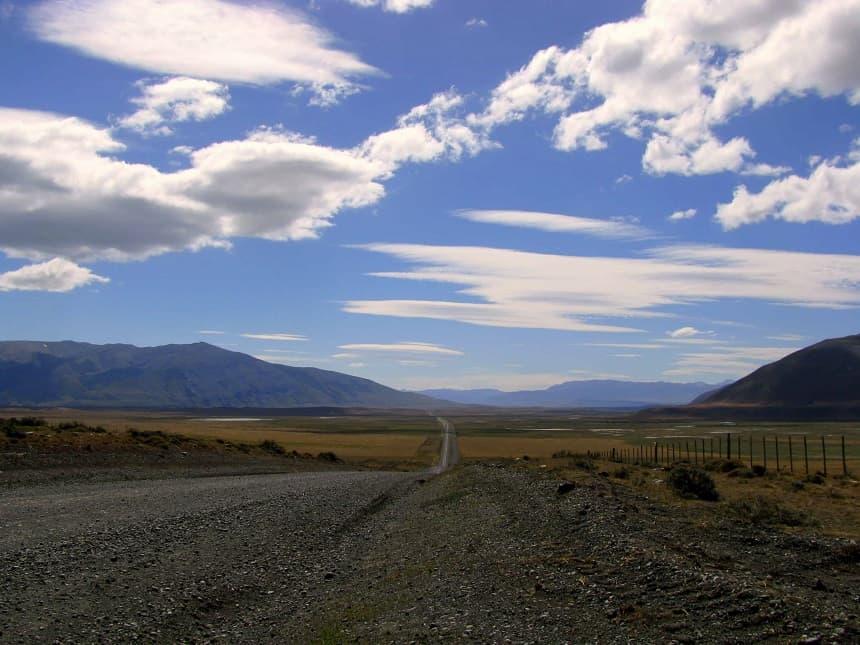 Wegen in Patagonië