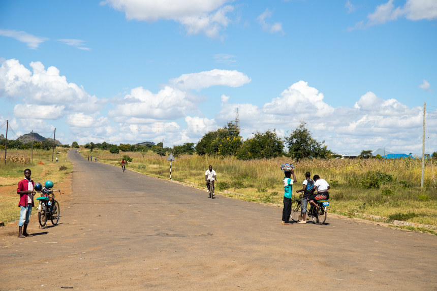Straatbeeld Malawi