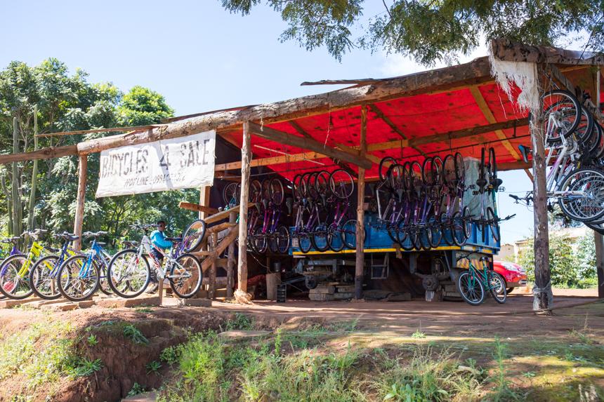 De fietsindustrie floreert in Malawi