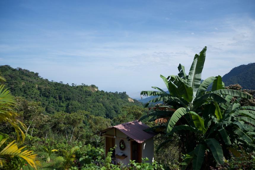 Casa Viejas in Minca, de Sierra Nevada van Colombia