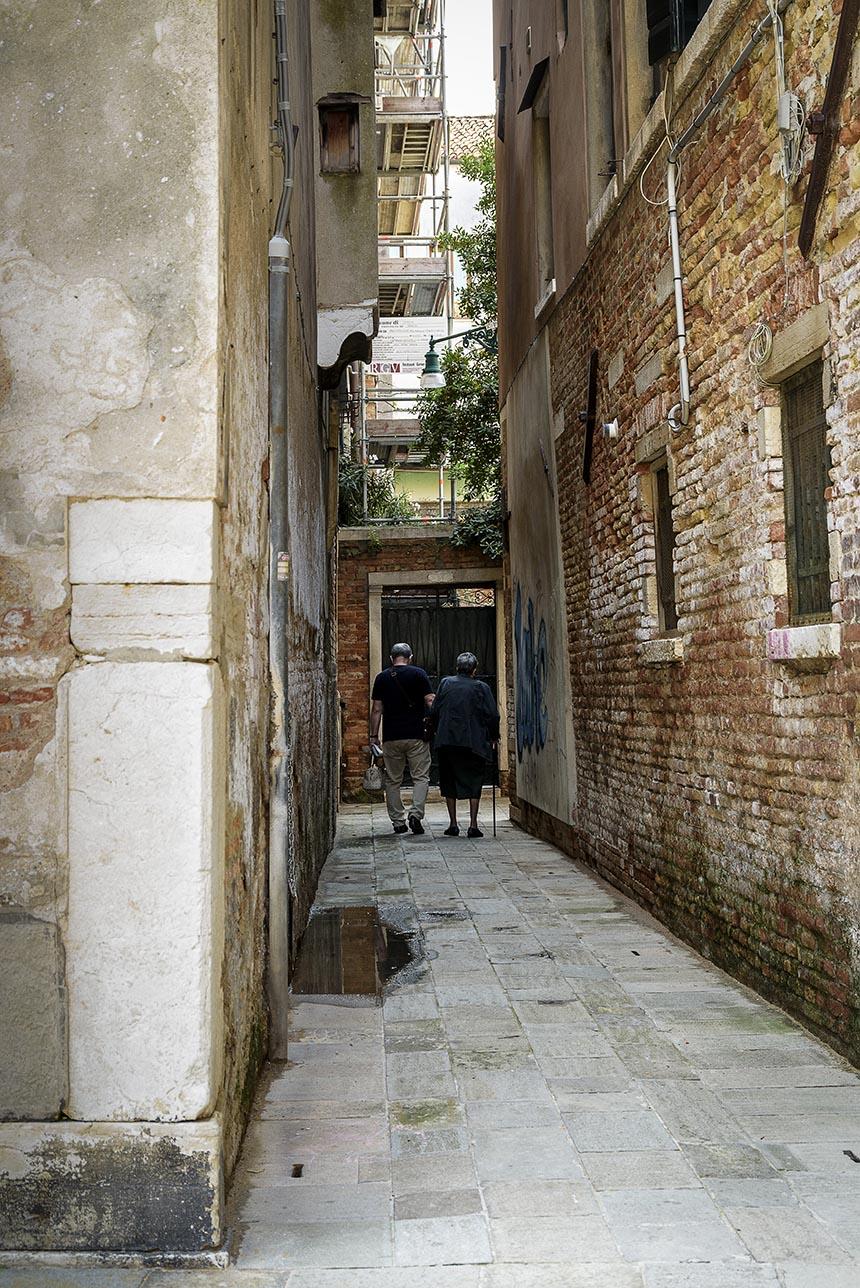 Venetië Italië Interrail