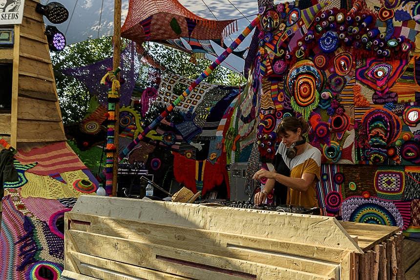 Forest Stage op Melt festival in Duitsland