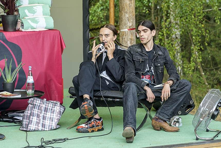 Interviews in het bos van Melt festival