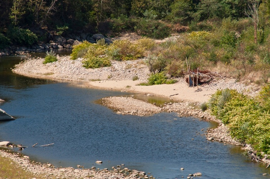 La Dolce Via voert je veelal langs de Eyrieux