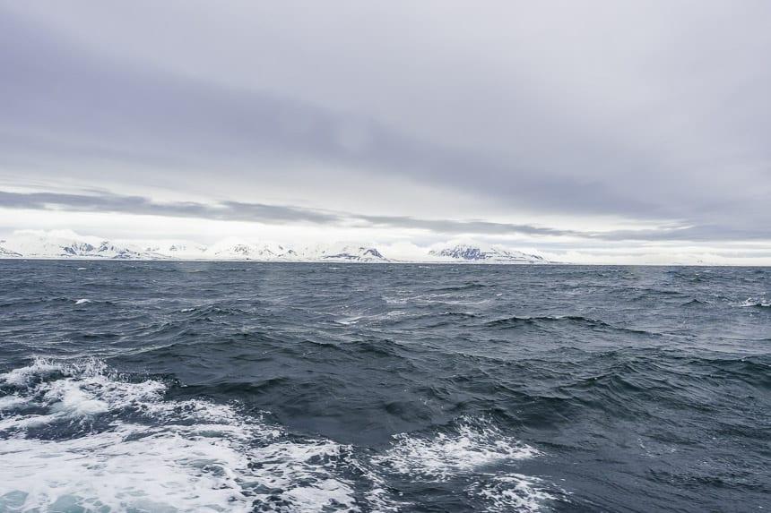 zeilen naar Spitsbergen