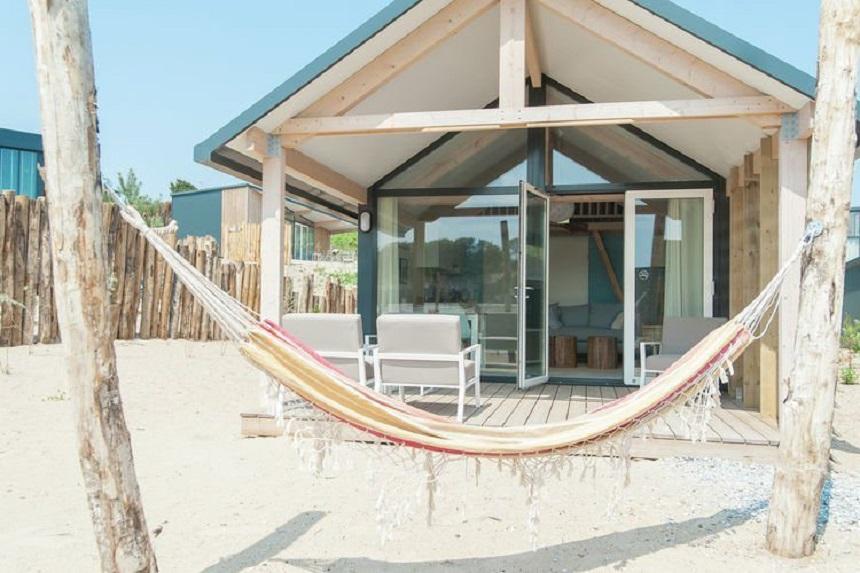 Strandhuisje Bloemendaal aan Zee
