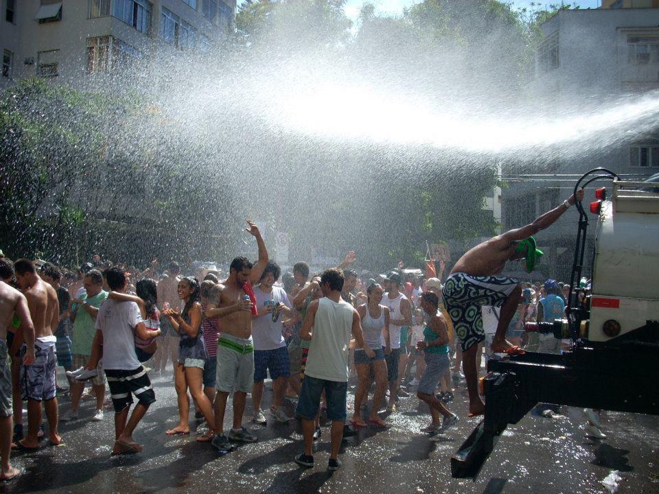 Straatcarnaval Brazilië