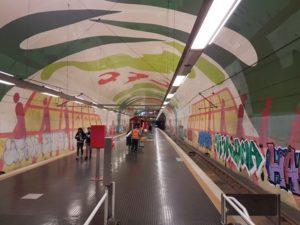 U-bahn station Keulen