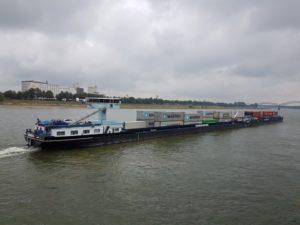 Binnenvaartschepen Keulen