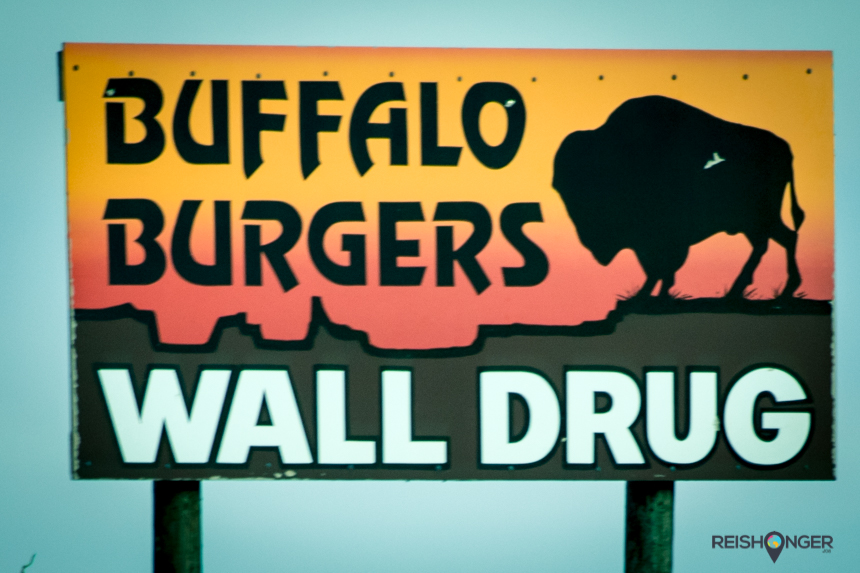 Buffalo burgers, een populaire regionale hap in South Dakota