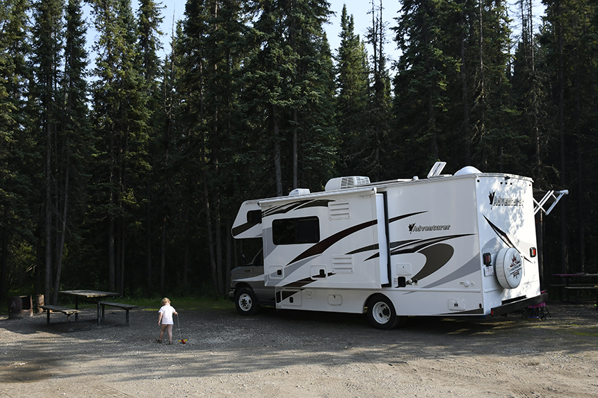 Fraserway Camper in Canada