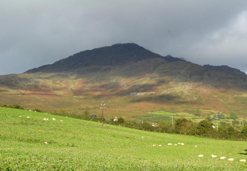 Heuvels in Ierland