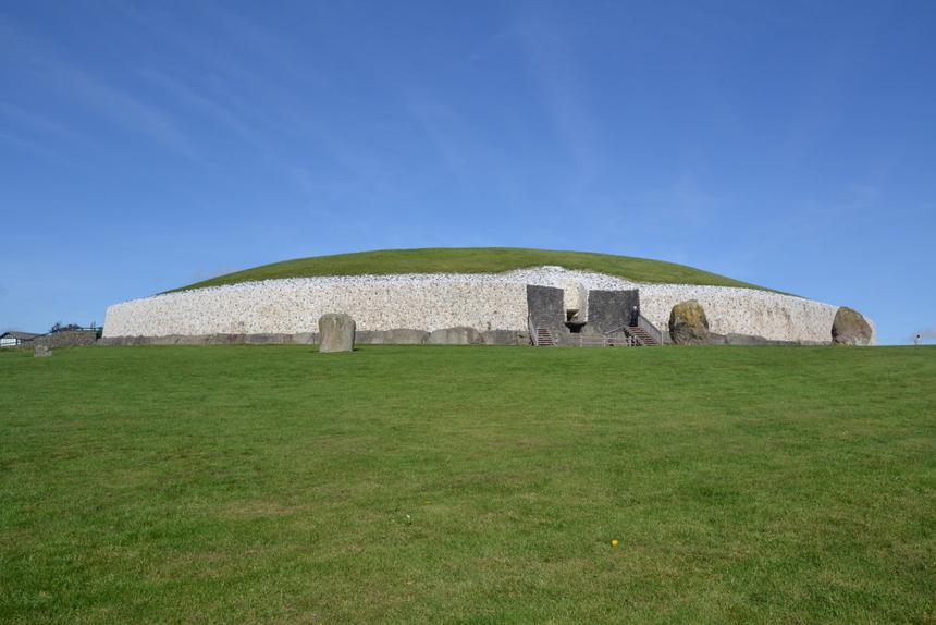 De megalithische grafheuvel Newgrange