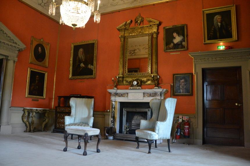 Kamer in Malahide Castle