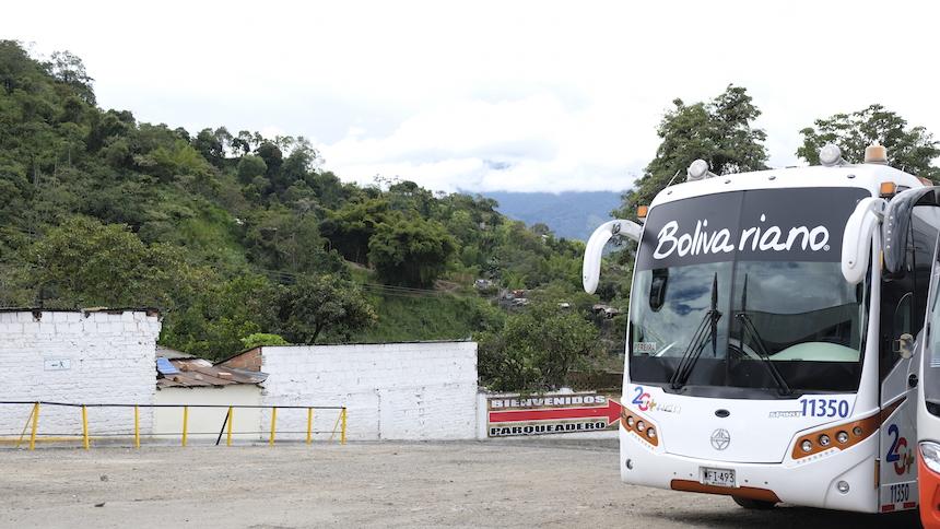Met de bus van Bogota naar Salento, via Armenia